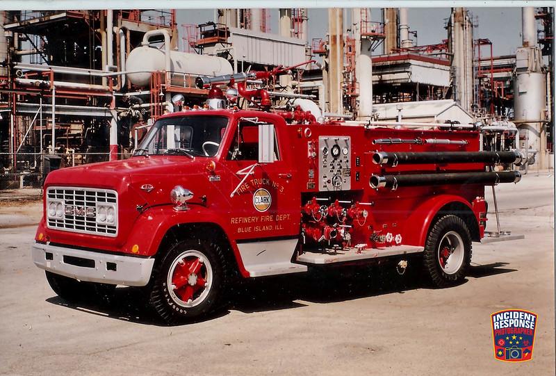 Clark Oil Refinery Fire Dept. Truck 3