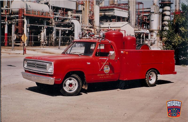 Clark Oil Refinery Fire Dept. Truck 2