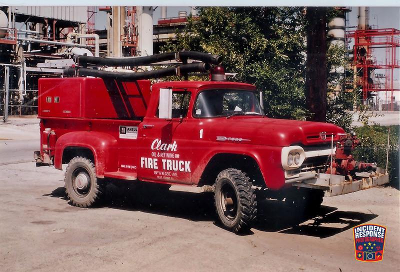 Clark Oil Refinery Fire Dept. Truck 1A