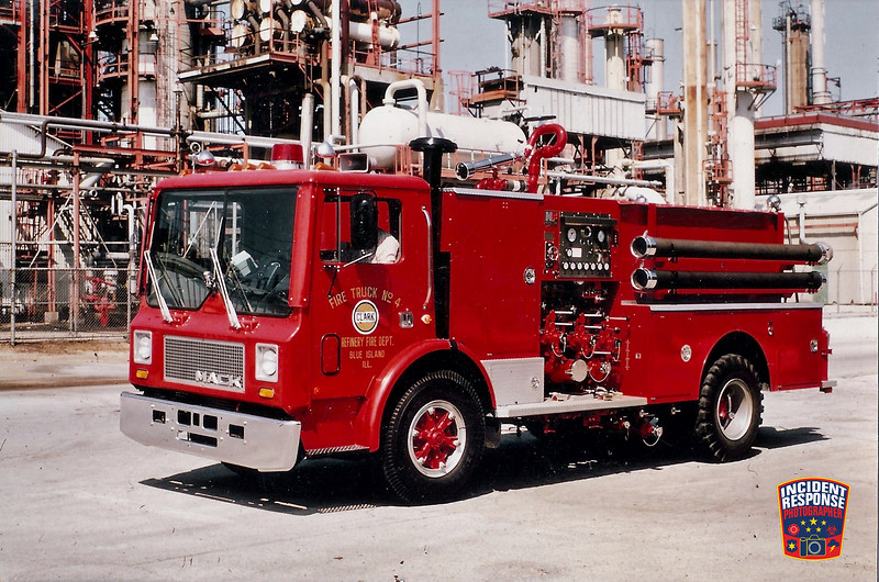 Clark Oil Refinery Fire Dept. Truck 4