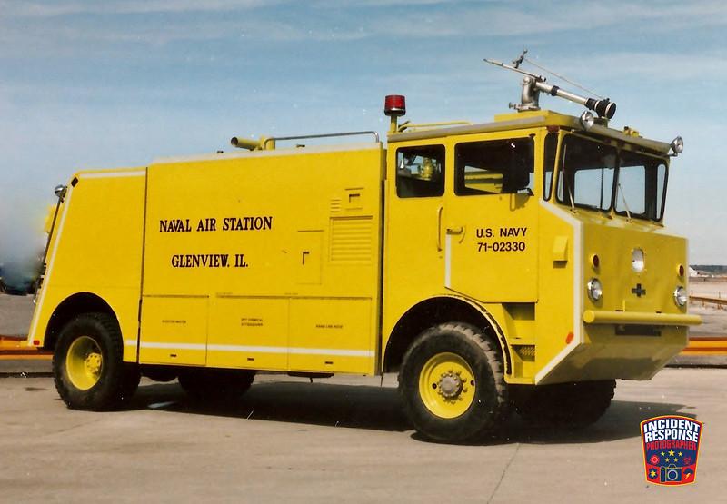 NAS Glenview Fire Division CFR 7