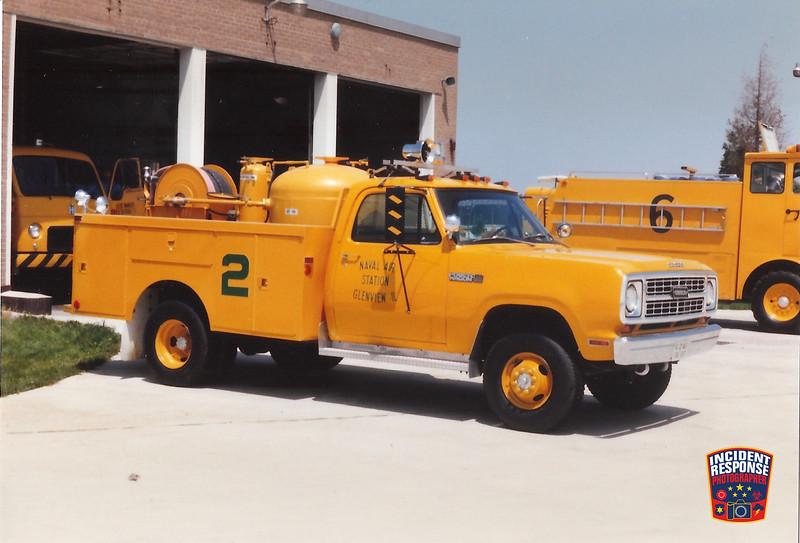 NAS Glenview Fire Division Foam Rig 2