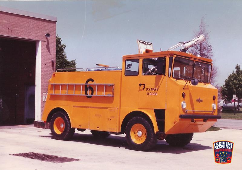 NAS Glenview Fire Division CFR 6