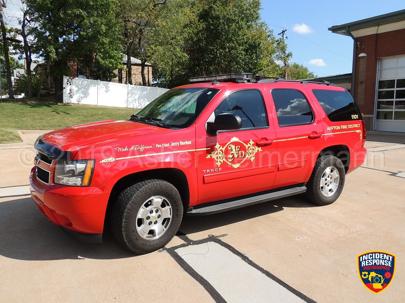 Affton Fire Chief SUV