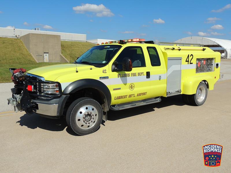 St. Louis Fire Dept. ARFF Rescue 42