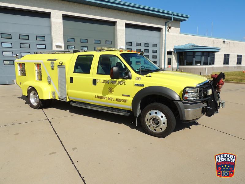 St. Louis Fire Dept. ARFF Rescue 49