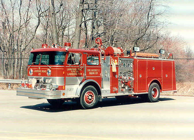 Lawrence Twp  Lawrence Rd  Fire Co  E-221 (1989)