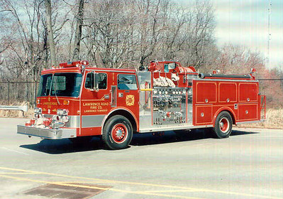 Lawrence Twp  Lawrence Rd  Fire Co  E-223 (1989)