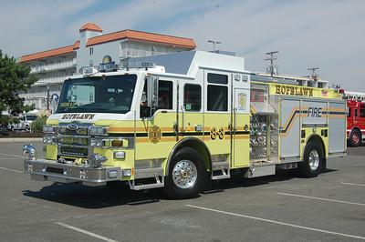 Hopelawn Engine 8-3 2009 Pierce Velocity 2000-750 Photo by Chris Tompkins