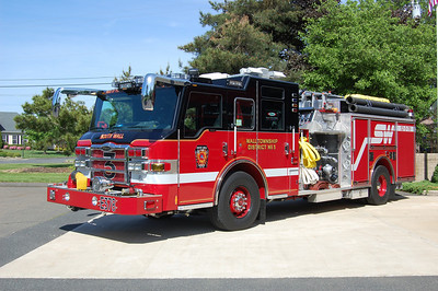 South Wall Engine 378 2010 Pierce Velocity 2000-500-50A-25B Photo by Chris Tompkins