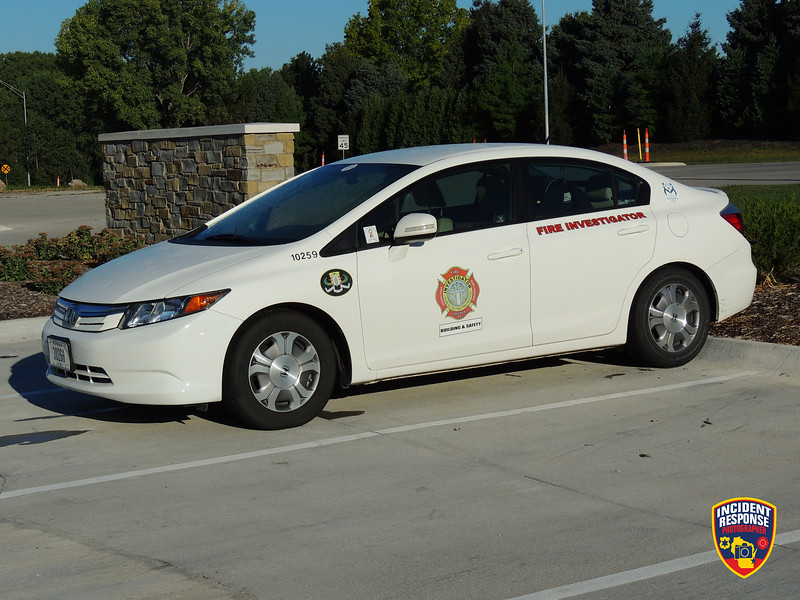 Lincoln Fire & Rescue Investigator Car