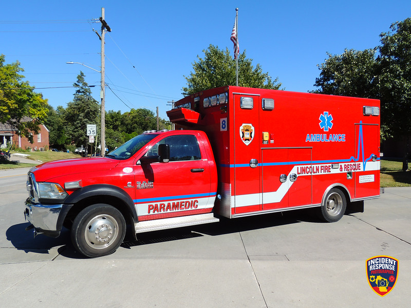Lincoln Fire & Rescue Ambulance 8