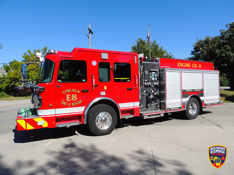 Lincoln Fire & Rescue Engine 8