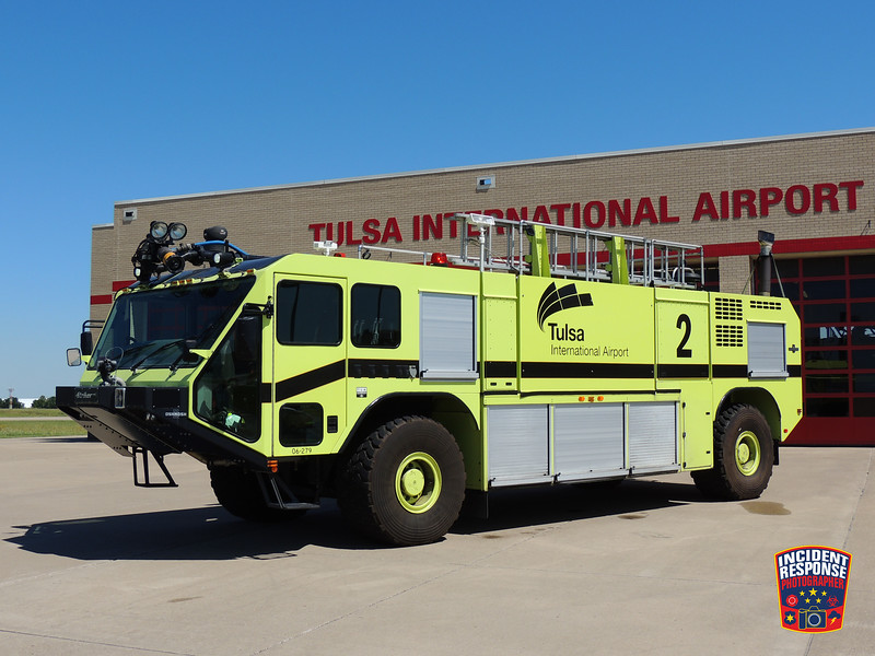 Tulsa International Airport ARFF Unit 2