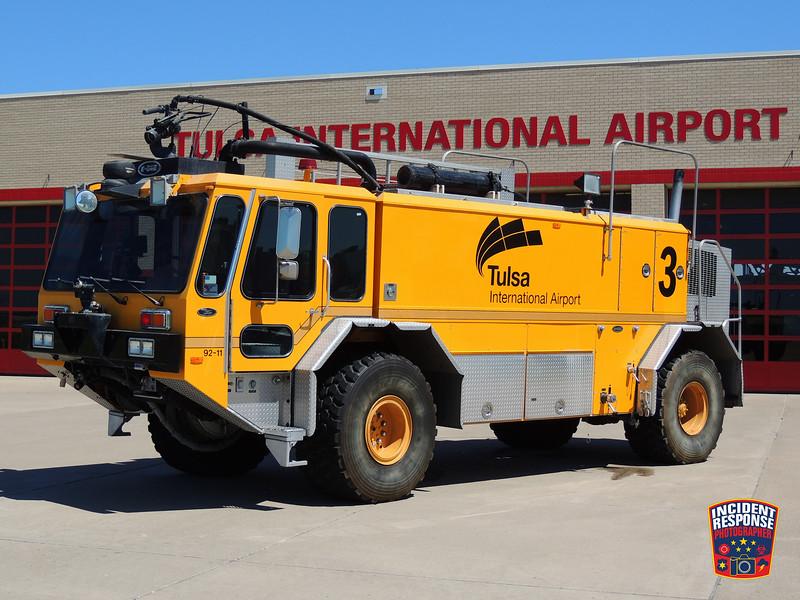 Tulsa International Airport ARFF Unit 3