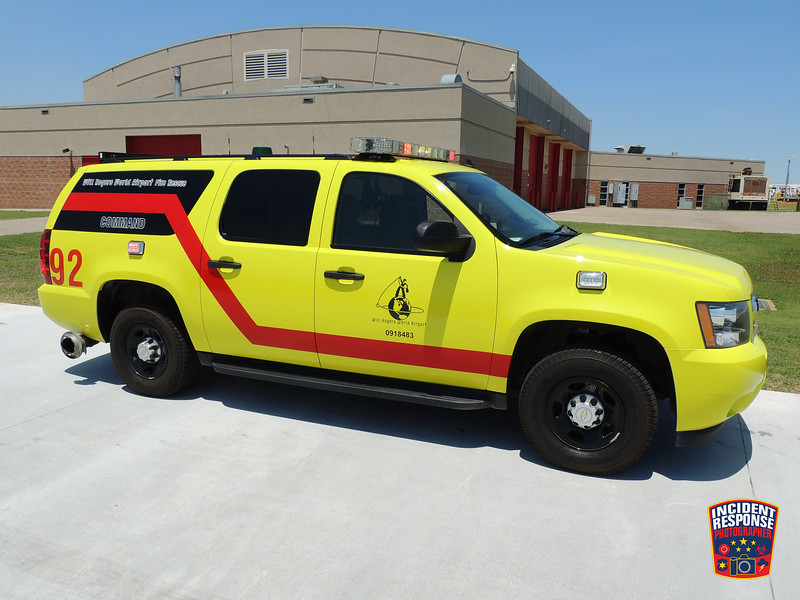 Will Rogers World Airport ARFF Command Unit 92