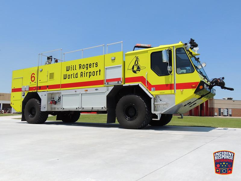 Will Rogers World Airport ARFF Unit 6