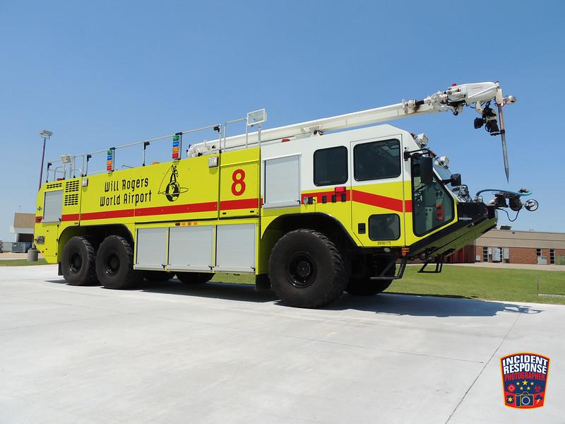 Will Rogers World Airport ARFF Unit 8