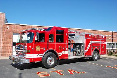 Barnegat Rescue Engine 1103 2006 Pierce Dash 1500-750-50A Photo by Chris Tompkins