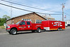 Barneget Light Utility 1327 2006 Ford F 350 xt - Reading  1990's 20' Pace Trailer Photo by Chris Tompkins