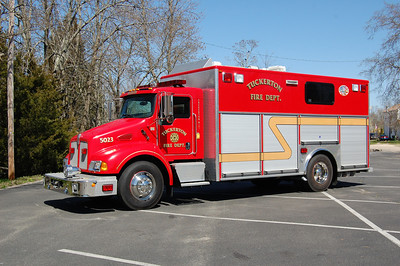 Tuckerton Rescue 5023 2003 Kenworth - Rescue1 Photo by Chris Tompkins