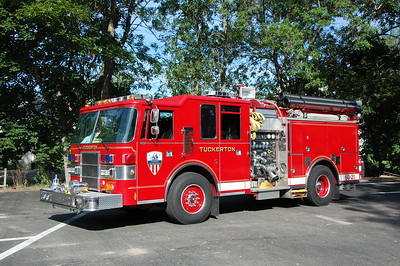 Tuckerton Engine 50-21 1994 Pierce Dash 1250-875-20B  Ex Cape May Courthouse  Photo by Chris Tompkins