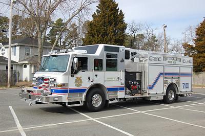 West Tuckerton Rescue Engine 7101 2012 Pierce Velocity 2000-1000-30A Photo by Chris Tompkins