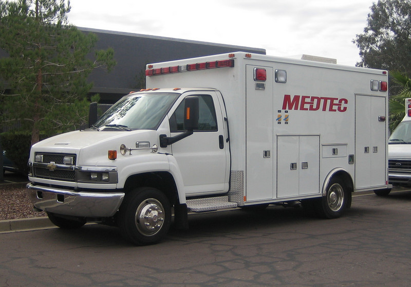 2008 Chevy Kodiak C4500 Medtec