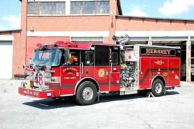Hershey PA Engine 48 2011 Pierce Arrow XT 2000-750-25A Photo by Chris Tompkins