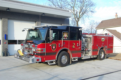Uniondale Engine 752 2009 Pierce Velocity 1500-500 Photo by Chris Tompkins