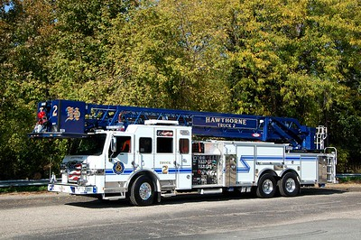 Hawthorne Truck 2 2020 Pierce Velocity 2000-300-100' Photo by Chris Tompkins
