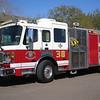 E38 2002 American Lafrance Eagle Mid-Engine Rear Pump 1250gpm 500gwt 80gfts CAFS #231334