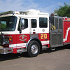 E20 2003 American Lafrance Eagle mid-engine rear-pump 1250gpm 500gwt 80gft CAFS #331012