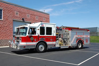 Orangeburg Engine 11-1750 2006 KME Predator 1750-1000 Photo by Chris Tompkins