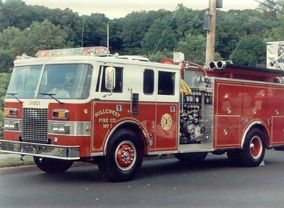 Hillcrest, N Y  6-1501 (1989)