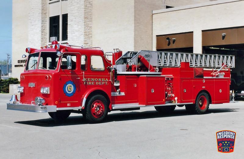 Kenosha Fire Dept. Ladder Truck 6