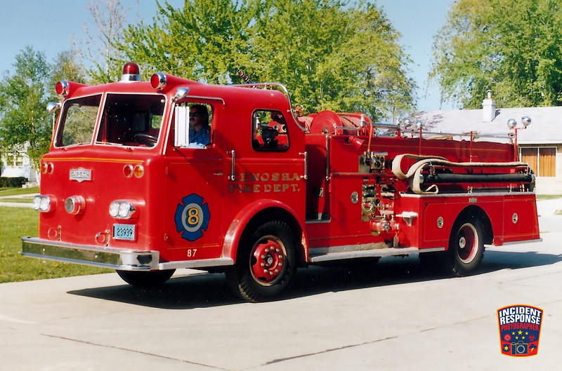Kenosha Fire Dept. Engine 8