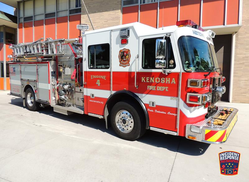 Kenosha Fire Dept. Engine 4
