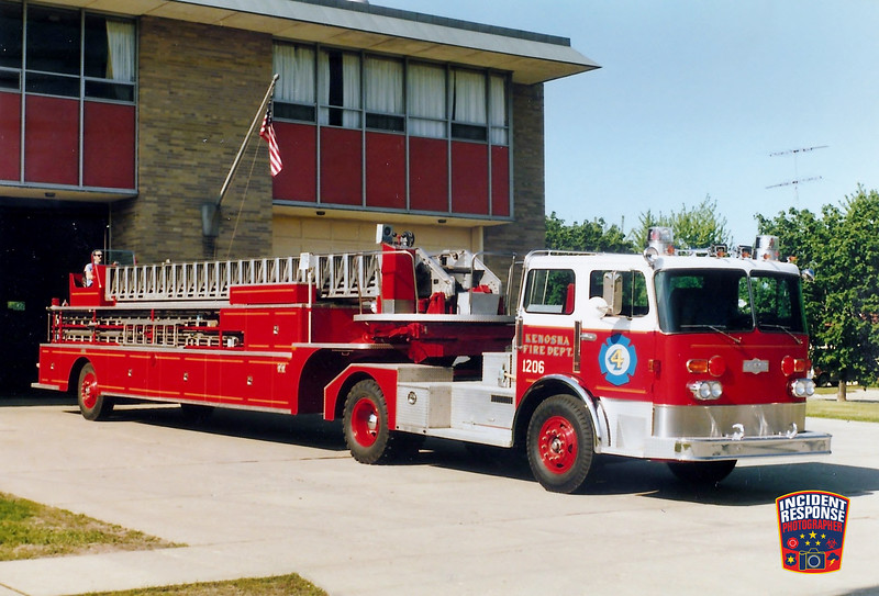 Kenosha Fire Dept. Ladder Truck 4