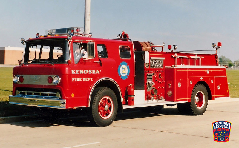 Kenosha Fire Dept. Engine 2