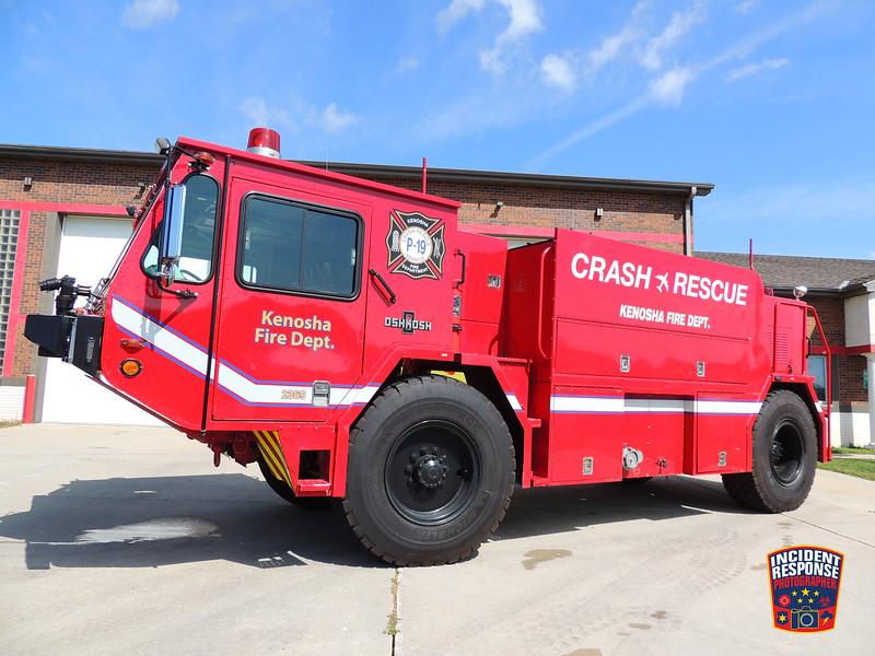 Kenosha Fire Dept. Airport Crash Rescue Truck