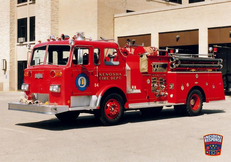 Kenosha Fire Dept. Engine 1
