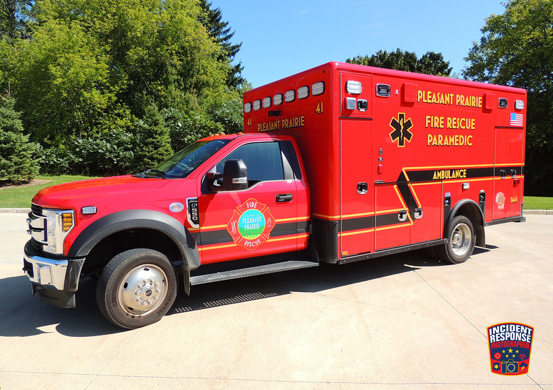 Pleasant Prairie Fire Dept. Ambulance 5641