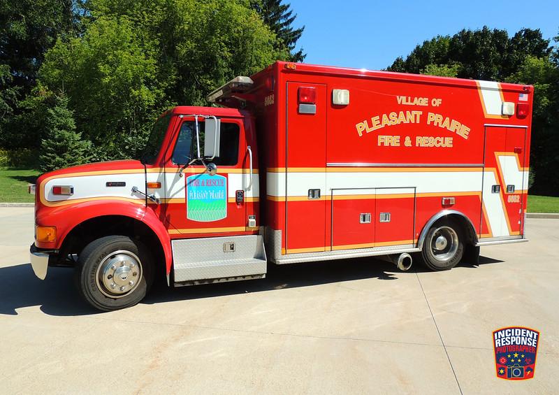 Pleasant Prairie Fire Dept. Rescue 5652