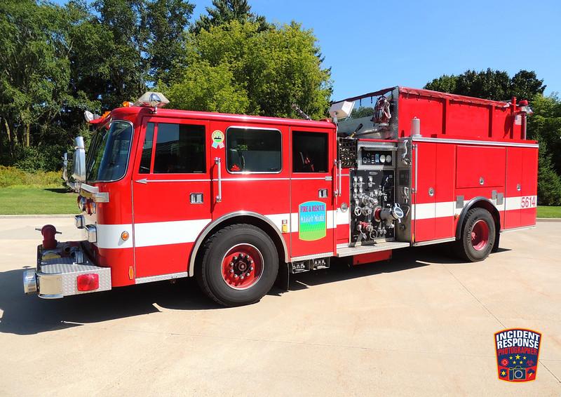 Pleasant Prairie Fire Dept. Engine 5614