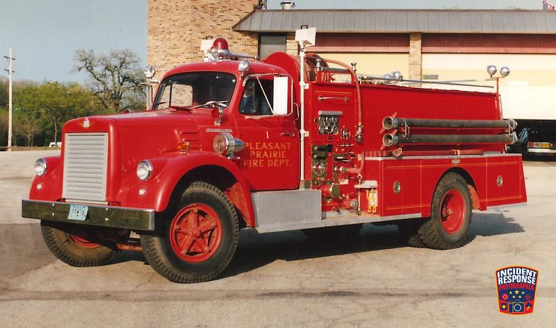 Pleasant Prairie Fire Dept. Engine 1