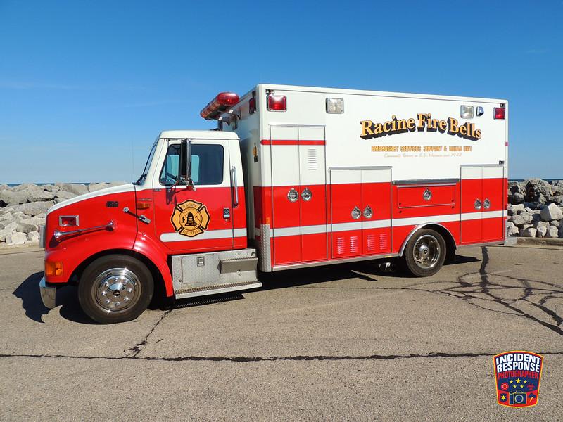 Racine Fire Bells Car 65