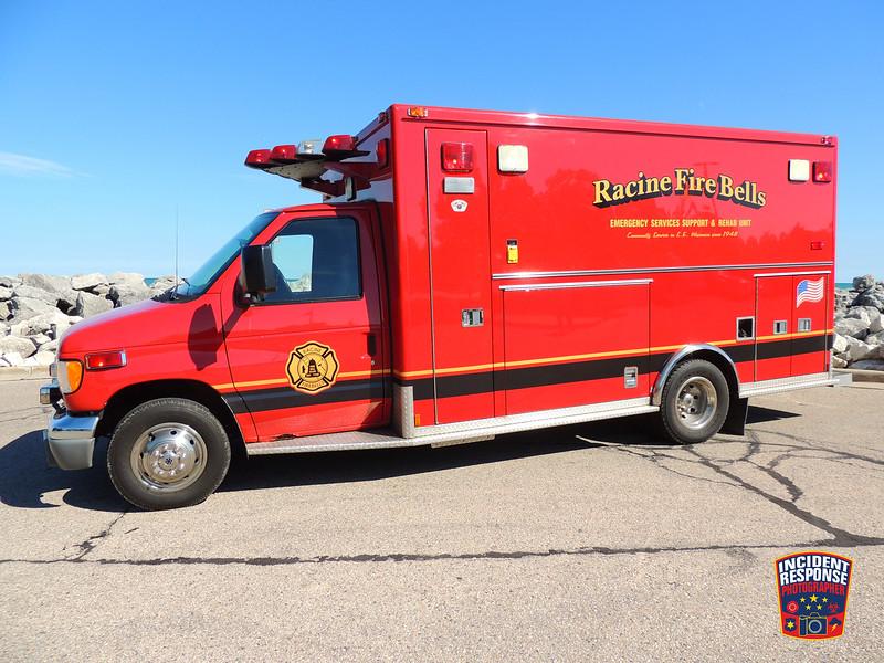 Racine Fire Bells Car 66