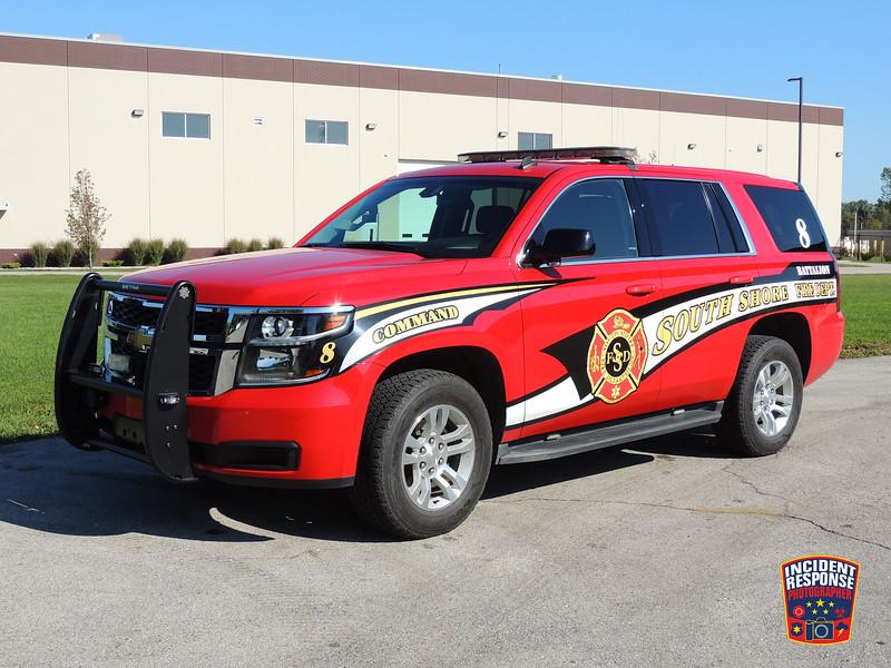 South Shore Fire Dept. Battalion Chief 8