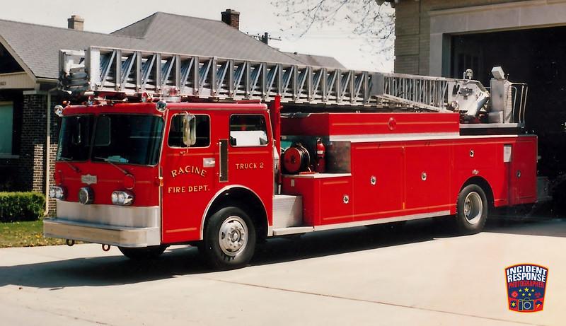 Racine Fire Dept. Ladder Truck 2